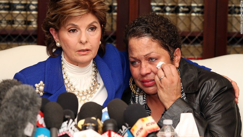 "Identifying herself only by a first name during a news conference with lawyer Gloria Allred, Chelan said she was a 17-year-old aspiring model who worked at the Las Vegas Hilton when her father's wife sent pictures of her to Cosby. She said Cosby arranged to meet her at the Vegas Hilton ""to introduce me to someone from the Ford modeling agency.""  During that meeting, she said, Cosby gave her ""a blue pill, which he said was an antihistamine, with a double shot of Amaretto."" She alleged that Cosby lay down next to her on the bed and began touching her sexually and grunting."