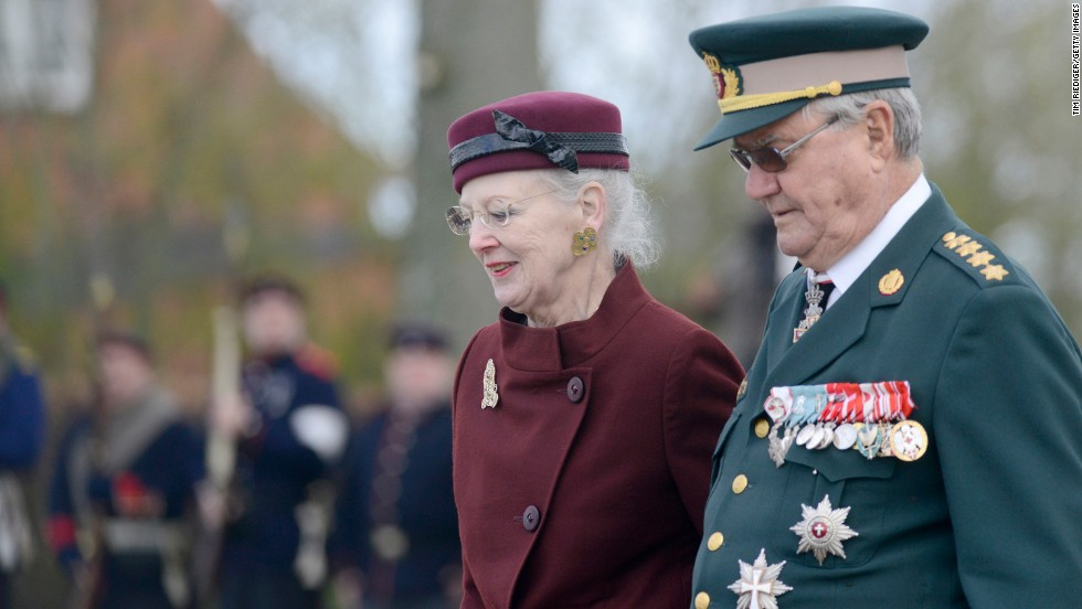 "Queen Margrethe II of Denmark, seen here with her husband, Henrik, Prince Consort, <a href=""http://kongehuset.dk/english/the-monarchy-in-denmark"" target=""_blank"">succeeded her father on the throne</a> in 1972."