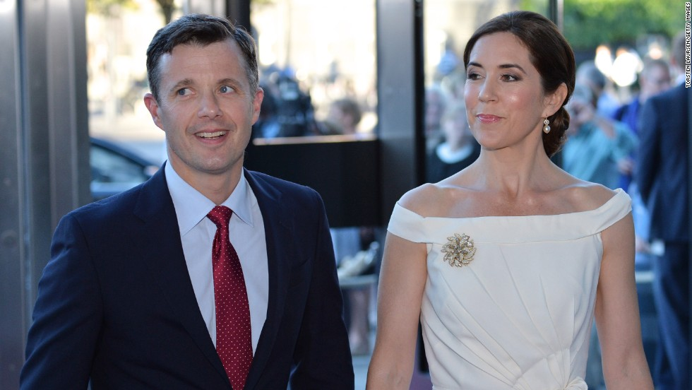Prince Frederik, seen here with his wife, Princess Mary, is the heir to the throne of Denmark.