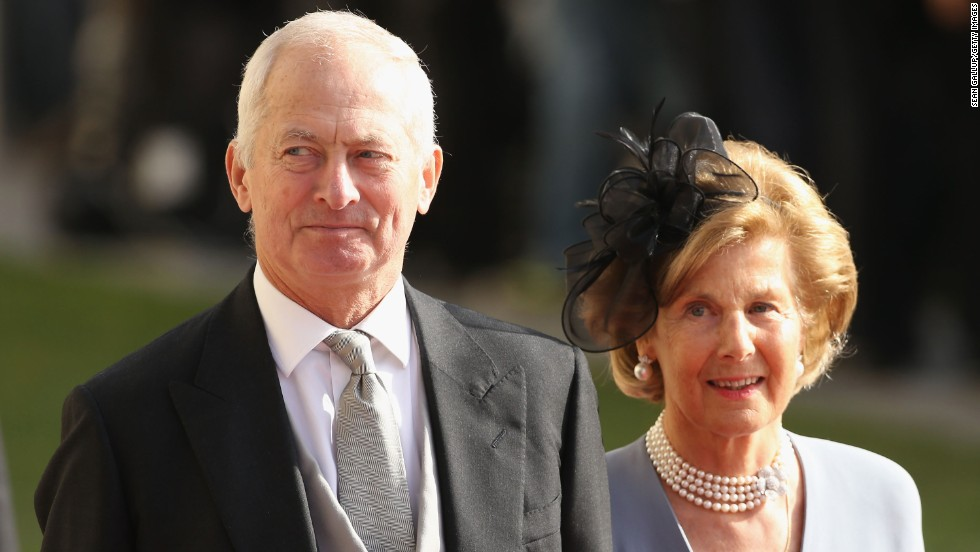 Prince Hans-Adam II of Liechtenstein and Princess Marie-Aglae married in 1967. The prince assumed the regency of the small European nation in 1989.