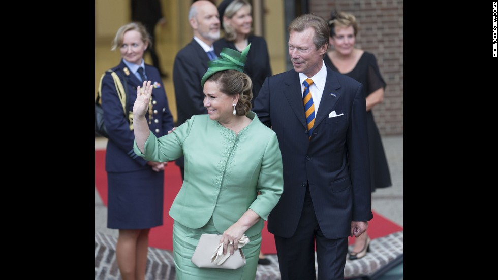 Grand Duke Henri and Grand Duchess Maria Teresa of Luxembourg married in 1981. The grand duke has reigned since 2000.