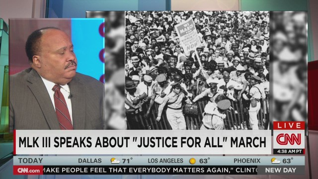 "MLK III Talks ""Justice for All"""