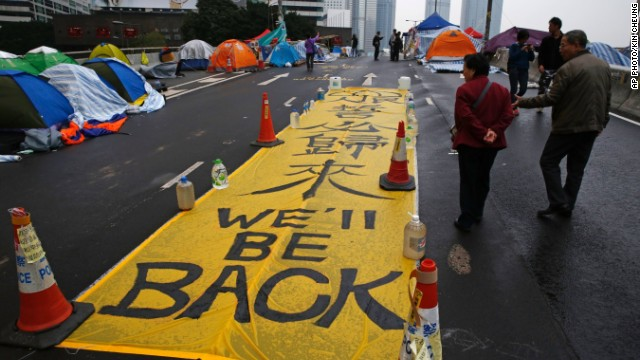 On China: Is Umbrella Movement political or economic?