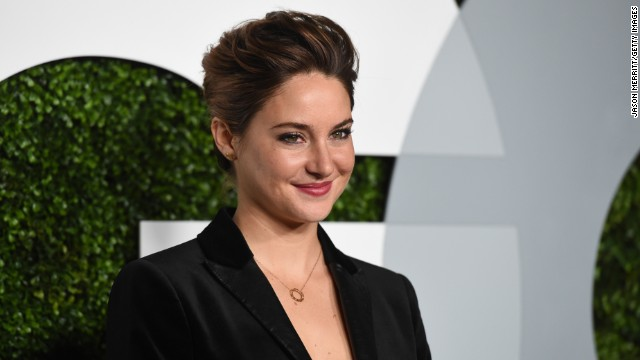 LOS ANGELES, CA - DECEMBER 04: Actress Shailene Woodley attends the 2014 GQ Men Of The Year party at Chateau Marmont on December 4, 2014 in Los Angeles, California. (Photo by Jason Merritt/Getty Images for GQ)