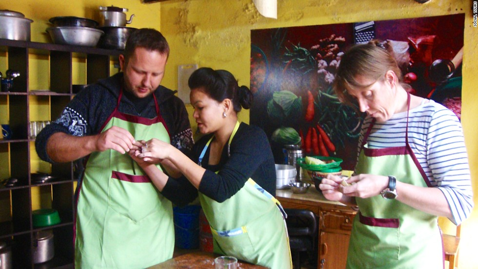 Developed a taste for Nepalese momo dumplings? You can take lessons to help you learn to make them at home.