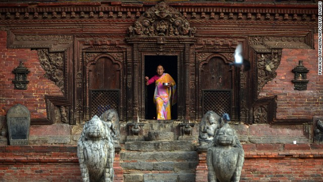 Patan Durbar Sqaure, one of the World Heritage Sites in Nepal.