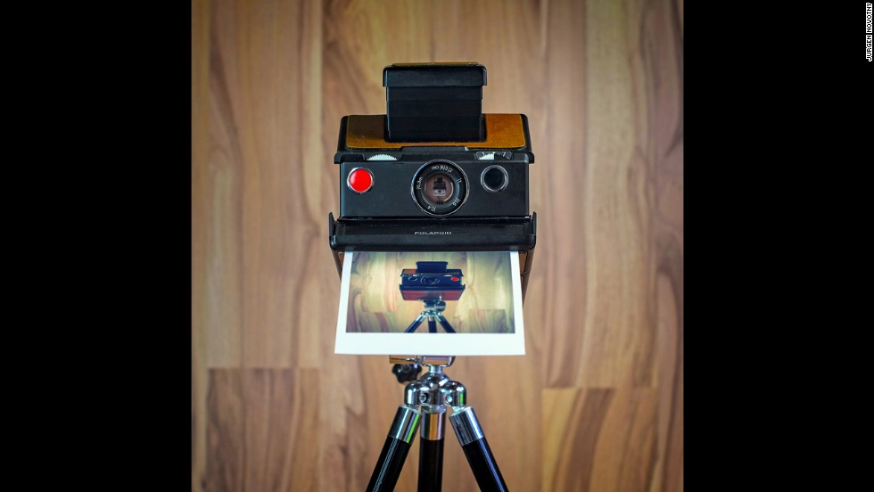 In the 1970's Polaroid released another model of instant-film camera called the SX-70.