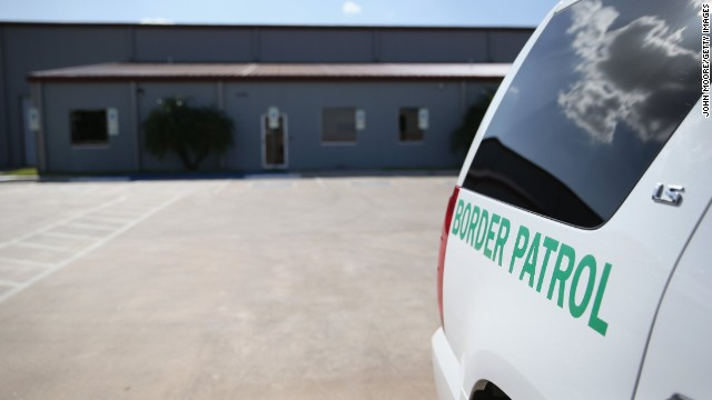 Caption:MCALLEN, TX - SEPTEMBER 08: A U.S. Border Patrol vehicle sits parked outside a detention facility for unaccompanied minors on September 8, 2014 in McAllen, Texas. The Border Patrol opened the holding center to temporarily house the children after tens of thousands of families and unaccompanied minors from Central America crossed the border illegally into the United States during the spring and summer. Although the flow of underage immigrants has since slowed, thousands of them remain housed in centers around the United States as immigration courts process their cases. (Photo by John Moore/Getty Images)