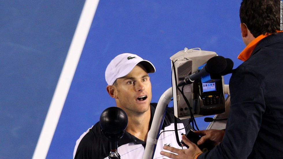 A grand slam winner and former world No. 1, Roddick frequently had spats with umpires during his career.