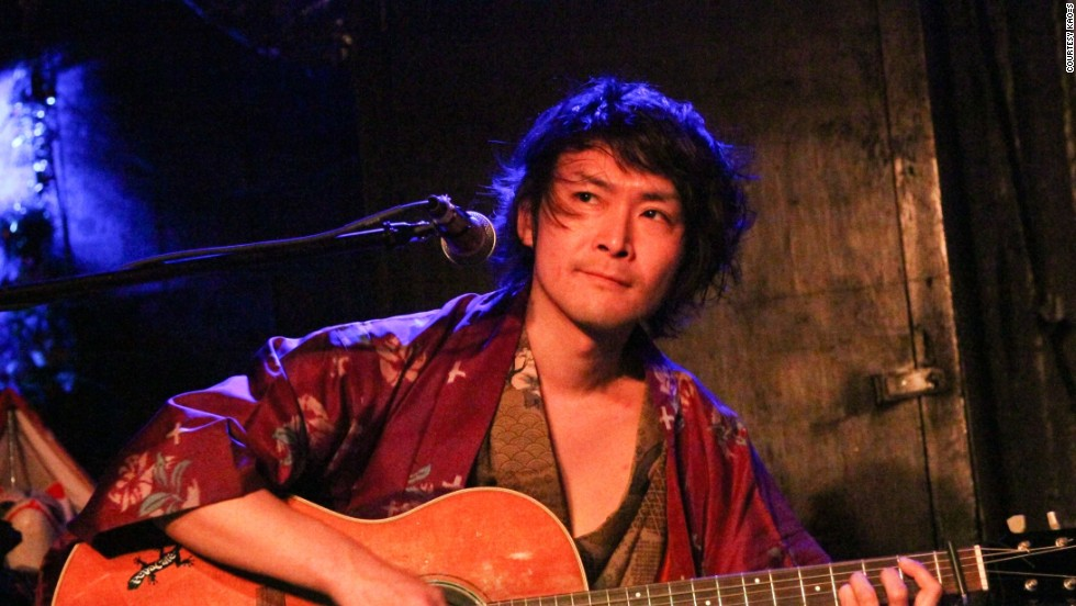 Shuji Yamagiri is the band's leader as well as the principal songwriter and acoustic guitarist. During KAO=S performances, he often sings in a variety of styles, including Japanese folk, shouka, rock and pop.