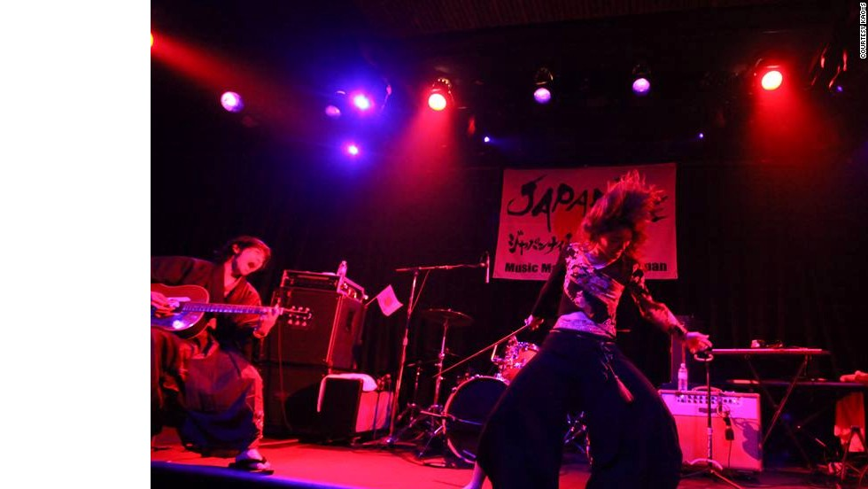 Japanese band KAO=S are taking the art of live performance to a new level with their energetic approach to music.