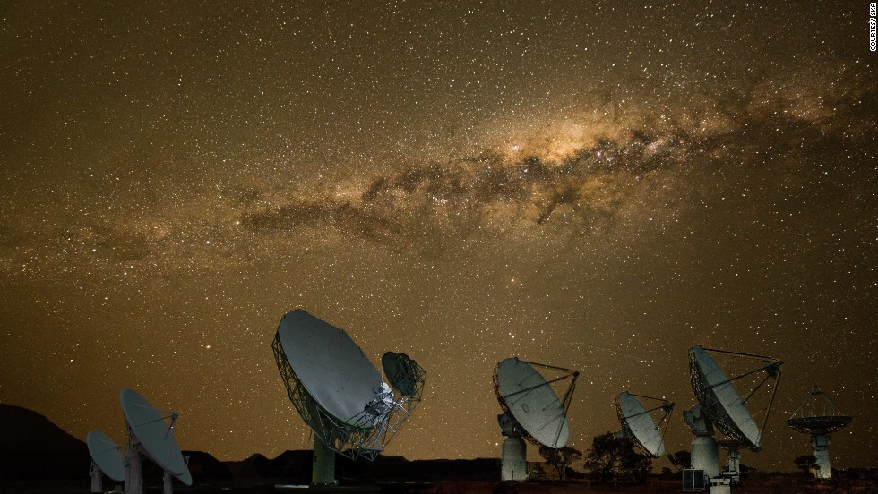 Africa has been slow to embark on space travel. But new projects on the continent look promising. South Africa's ambitious Square Kilometer Array project aims to build the world's biggest radio telescope that will help scientists paint a detailed picture of some of the deepest reaches of outer space. <br /><br />Pictured here: a composite image of the MeerKAT and Square Kilometre Array Pathfinder (ASKAP) satellites.