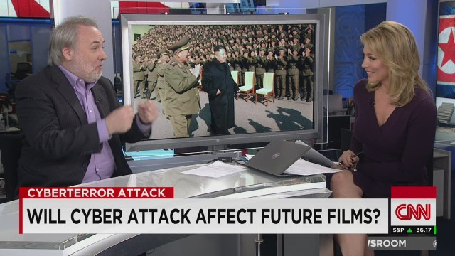 NR Brooke Baldwin North Korea Sony hacking Film Critic_00003224.jpg