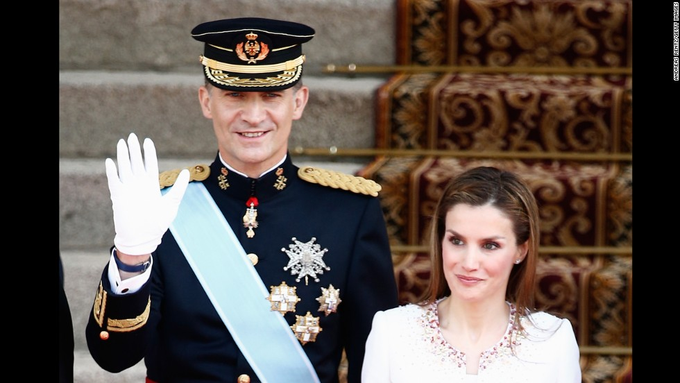 King Felipe VI and Queen Letizia of Spain
