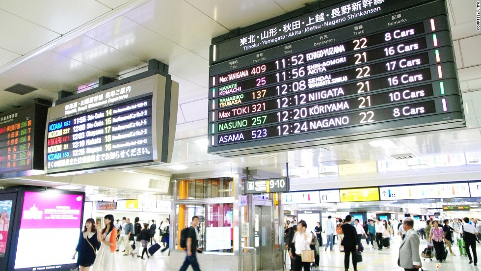 Serving more than 3,000 trains and 350,000 passengers per day, Tokyo Station is the busiest in Japan. The station also earns more than any other in Japan.