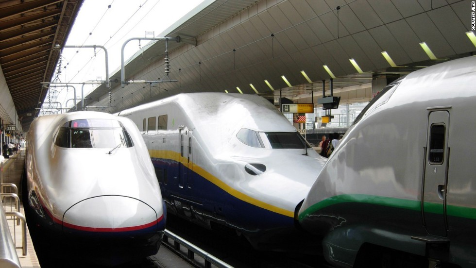 It has 14 lines, including the Tokaido Shinkansen, the most heavily used high-speed rail route in the world.