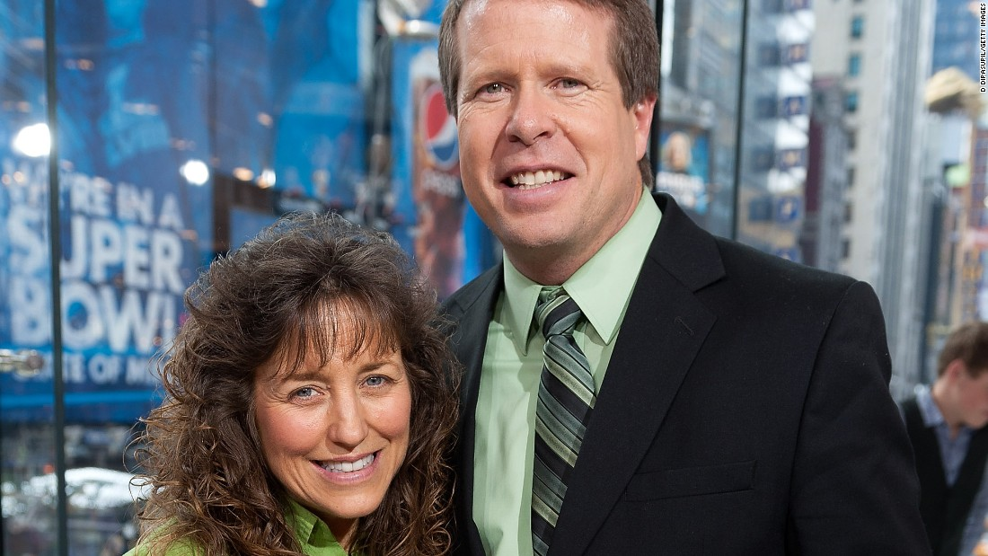 Reality star Jim Bob Duggar (seen here with wife Michelle Duggar) surely had a massive birthday celebration on July 18. He's the father of 19 and grandfather of four.