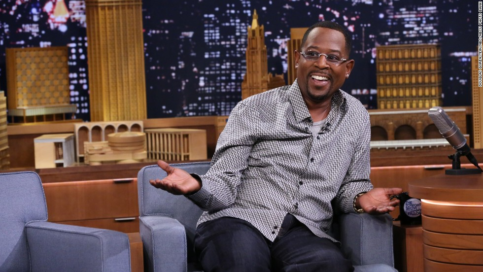 ... Martin Lawrence, who also hit the half-century mark on April 16.