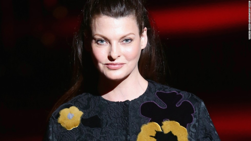 Supermodel Linda Evangelista makes 50 look pretty spectacular. She celebrated on May 10.