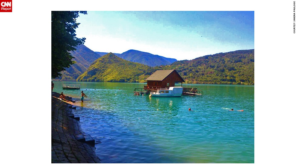 "<strong>Perucac Lake</strong>: Sandra Pavlovic was taken aback by the stunning landscape of <a href=""http://ireport.cnn.com/docs/DOC-1194058"">Perucac Lake</a> on the Serbia-Bosnia border: ""Not knowing how beautiful it was before I went there surprised me,"" she says."