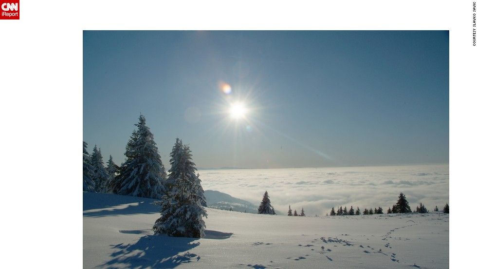 "<strong>Kopaonik Mountain</strong>: Slavko Savic grew up on a mountain, and wanted to share the crisp, frosty beauty of <a href=""http://ireport.cnn.com/docs/DOC-1191633"">Kopaonik</a>, Serbia's most famous ski resort, with the world."