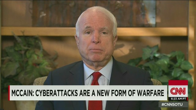 McCain: Sony hack not 'cybervandalism'