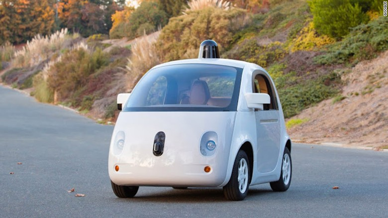 Cop pulls over Google's driverless car