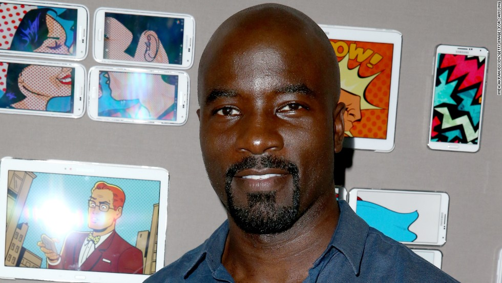"Mike Colter is superhero Luke Cage/Power Man in the Netflix series ""Jessica Jones."""