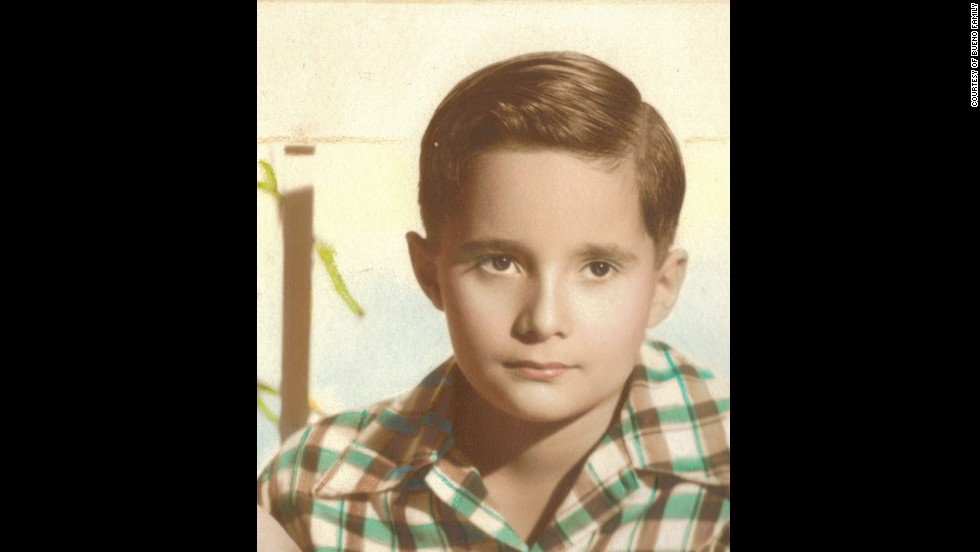 Arturo Bueno, 8 years old in Camagüey, Cuba, in 1953. Now 69, he arrived in the United States at age 16 as part of Operation Pedro Pan, which airlifted 14,000 unaccompanied Cuban children from the communist isle.
