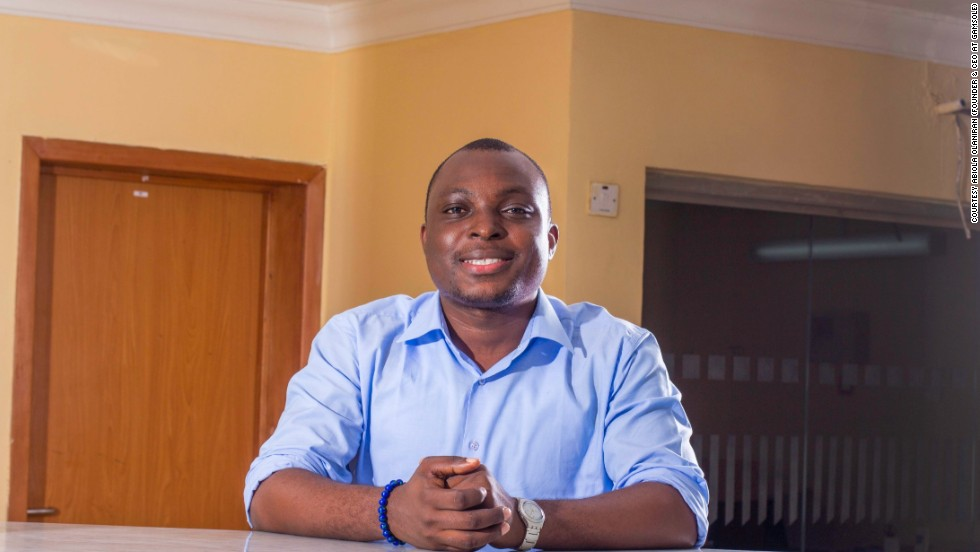 The Nigeria-based game developer received an innovation grant from Microsoft in 2014. Pictured here is Gamsole founder, Abiola Olaniran.
