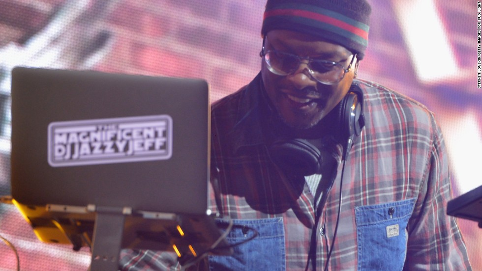 DJ Jazzy Jeff probably mixed it up on his day, also January 22.