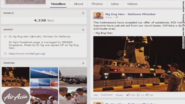 Social media reacts to missing flight