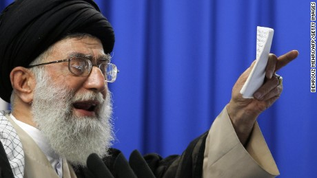 Rouhani must contend with other centers of gravity -- namely Iran's Supreme Leader Ayatollah Ali Khamenei.