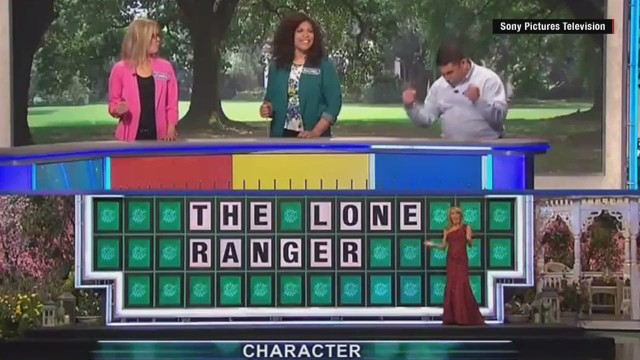 Wheel of Fortune Contestant Gets Epic Win