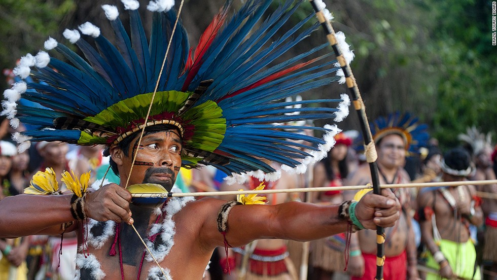 Brazilian municipality Porto Nacional will host the first World Indigenous Games in 2015. More than 2,000 athletes from indigenous groups in 30-plus countries will take part.