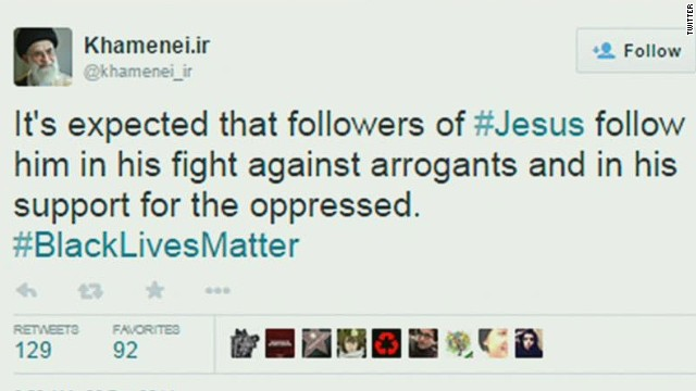 Iran's supreme leader: #BlackLivesMatter
