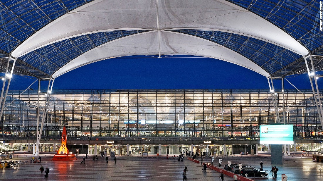 <strong>4. Munich Airport (Germany)</strong> -- Germany's Munich Airport dropped one position this year, which means it's now the world's No. 4 airport.