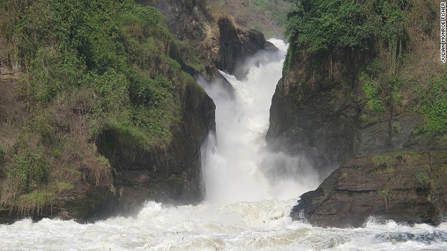 Baker's Trail passes by the beautiful Murchison Falls.