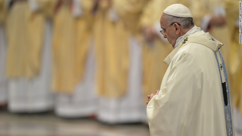Pope Francis names new slate of cardinals