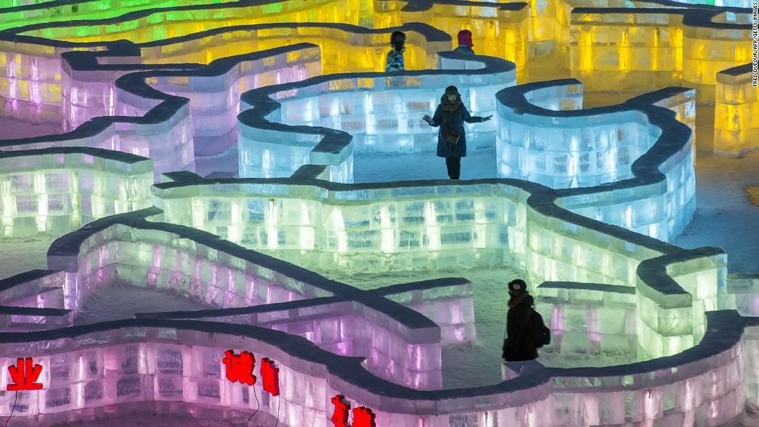 2015 Harbin International Ice And Snow Festival CNN