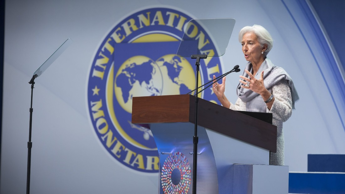 "In June 2011 Lagarde was appointed as the 11th Managing Director of the<a href=""http://www.imf.org/external/index.htm"" target=""_blank""> International Monetary Fund</a>, following previous Director Dominique Strauss-Kahn resigned due to scandal. <br />She is the first woman to hold the position and adopted the role at a time of global economic crisis."
