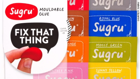 "New material ""Sugru"" allows users to ""hack their products."""