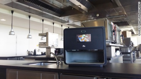 """Foodini"" is a 3D food printer."