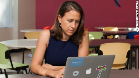Anne Wojcicki, founder of 23andme.