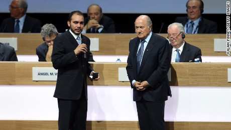 Can a Jordanian prince unseat current FIFA president?