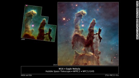 NASA stuns with new image of 'Pillars of Creation'
