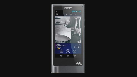 cnn$ Sony ces 2015 products walkman thin 4k tv_00003008