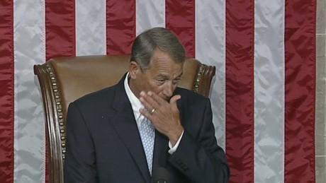 sot boehner emotional at reelection ceremony  _00002729