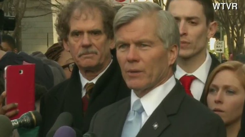 Ex-governor Bob McDonnell speaks out on prison sentence
