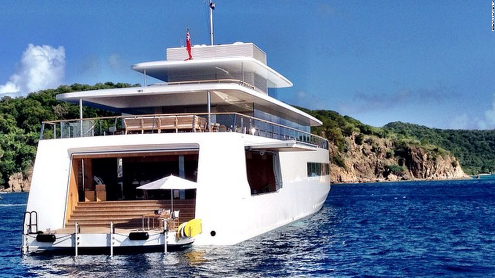 Steve Jobsu0027 Secret Yacht: The Rare, New Images   CNN Video